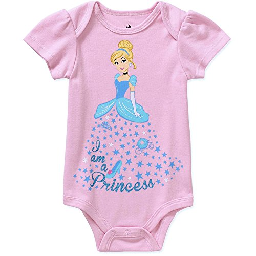 Prinzessin Cinderella Assorted Baby M?dchen Bodysuit Dress Up Outfit (Neugeborene, hellrosa)