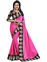 Fashion And Hub Cotton Silk Saree With Blouse Piece