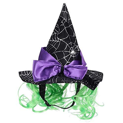 Hunde Tragen Geschenk Box Kostüm - Bicaquu Haustier Katze Hund Halloween Holiday Party Zauberer Hut Dress Up Cosplay Kostüm aus kurzem Plüsch
