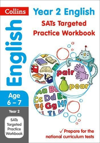 Collins KS1 Practice – Year 2 English SATs Targeted Practice Workbook: 2019 tests