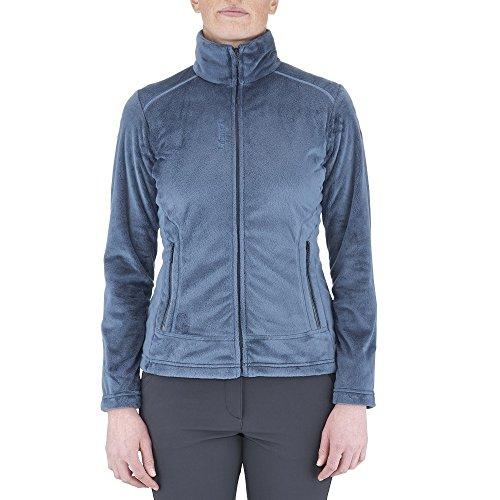 Fleece Wandern LD Alpic Full Zip–Damen M Indigo Blue