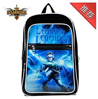 Cosplay LOL league of legends -PU Bag Backpack sac à dos -Christmas Gift