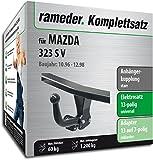 Rameder Komplettsatz, Anhängerkupplung starr + 13pol Elektrik für Mazda 323 S V (124622-00365-1)