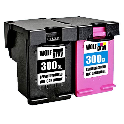 Wolfgray 300XL Remanufacturado HP 300 XL 300 Cartuchos