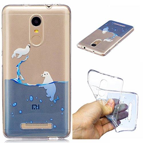 Xiaomi Redmi Note 3 Hülle Case, Cozy Hut® [Liquid Crystal] Ultra Dünn [Crystal Case] Transparent Soft-Flex Handyhülle / Bumper-Style Premium-TPU Silikon / Perfekte Passform / Kratzfest Schutzhülle für Xiaomi Redmi Note 3 Case, Xiaomi Redmi Note 3 Cover, Redmi Note 3 Case, Redmi Note 3 Cover - Dichtung