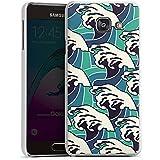 Samsung Galaxy A3 (2016) Housse Étui Protection Coque Vagues Été Mer
