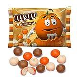 M&M's White Pumpkin Pie Chocolate Candy 8oz Bag (226.8g)