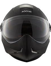 Steelbird SB-50 Adonis Classic Black with Plain Visor,600mm
