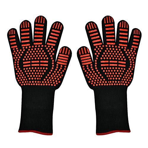 1 par de guantes para horno de microondas, mitones para hornos de cocina para asar a la parrilla, cortar...
