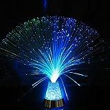 GZQ LED-Schreibtischlampe mit Farbwechsel, Faser-Nachtlicht, für Zuhause, Schlafzimmer, Hochzeit, Weihnachten, Geburtstag, Party, Urlaub, Geschenk