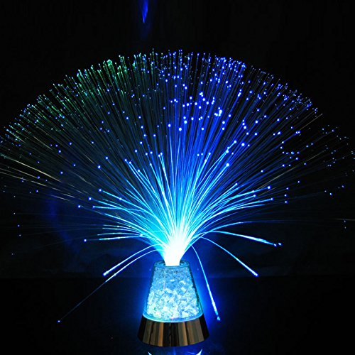 GZQ LED-Schreibtischlampe mit Farbwechsel, Faser-Nachtlicht, für Zuhause, Schlafzimmer, Hochzeit, Weihnachten, Geburtstag, Party, Urlaub, Geschenk -