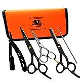 BeautyTrack - Coupe De Cheveux, Ciseaux Amincissants Ciseaux Set- Salon De Coiffeur professionnel...