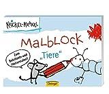 Krickel-Krakel Malblockbuch Tiere
