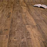 PVC Bodenbelag Rustikal Dunkel mit Aufdruck Breite 2 m