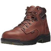 "Timberland PRO Men's Titan 6"" Safety Toe Work Boot,Brown/Brown,10.5 W"
