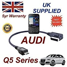 Cable AMI MMI de Audi Q5 Series 2009+ para Blackberry Q5 4F0051510M - Cable Micro USB