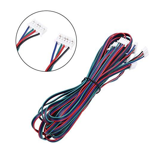 5pcs PH2.0-XH2.54 Femelle-Femelle Câbles de Connexion pour Moteurs Pas à Pas Nema16 Nema17 Imprimante 3D