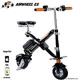 Airwheel E6, Elektro Scooter faltbar Herren M schwarz