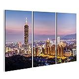 islandburner Bild Bilder auf Leinwand Taipeh, Taiwan - Circa im August 2015: Turm Taipehs 101 Oder Taipeis WTC in Taipeh, Taiwan Bei Sonne Wandbild, Poster, Leinwandbild IHT-3P