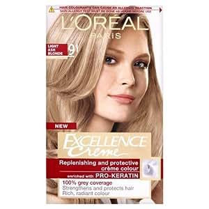 L'Oreal Excellence Permanent Hair Colour 9.1 Light Ash Blonde