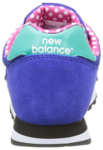 New Balance487661 50 - Scarpe da Ginnastica Basse Donna Multicolore (Blue/Green)