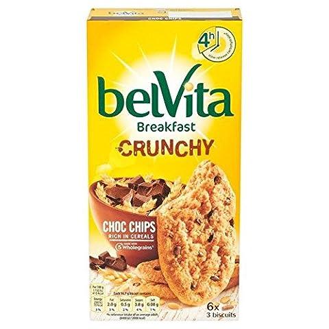 Belvita Crunchy Choc Chips Biscuit, 300g (Pack of 6)