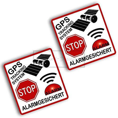 Sticker-Designs® ca.7.5cm SECURITY WARNING GPS TRACKING SYSTEM Alarm gesichert Stop Einbruch Bike051 viele Jahre haltbar,Hochleistungs-Druck UV & Waschanlagenfest,schutzbeschichtete,kratzfeste,Profi-Qualität,bunt ohne Hintergrund-FREIGESTELLT-,Motiv ist auf Kontur(Umriss)ausgeschnitten(Bild2)!Für alle Autos und Lacke geeignet.SCHNELL,EINFACH ZU VERKLEBEN auf Scheiben,PKW,Motorrad,Tuning,Camping,alle glatten Flächen,Wandtattoo,Roller,Heckscheibe,Stoßstange.MADE IN GERMANY (Motorrad Gps Security)