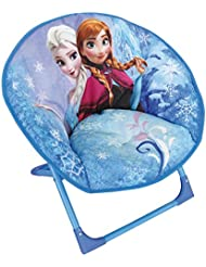 Fun House Reine des Neiges Siege lune pliable