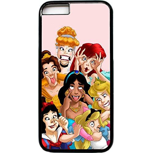 iPhone 6 Principesse Disney facce BUFFE telefono custodia smorfie