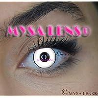 Mysa Lens®, lenti a contatto colorate, colore: Bianco con cerchio