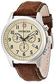 Wenger Herren-Armbanduhr XL Terragraph Chronograph Quarz Leder 01.5431.105