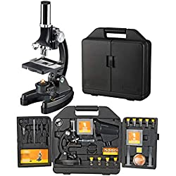 Microscope 300x-1200x National Geographic avec Valise
