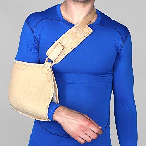 Aktive Support 571 Arm Sling Pouch - Medium (Beige)