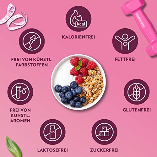 GymQueen Tasty Drops 30ml | Kalorienfreie, Zuckerfreie und Fettfreie Flavour Drops | Aroma Tropfen zum Süßen von Lebensmitteln | Geschmackstropfen ohne Künstliche Farbstoffe I Dreierpack