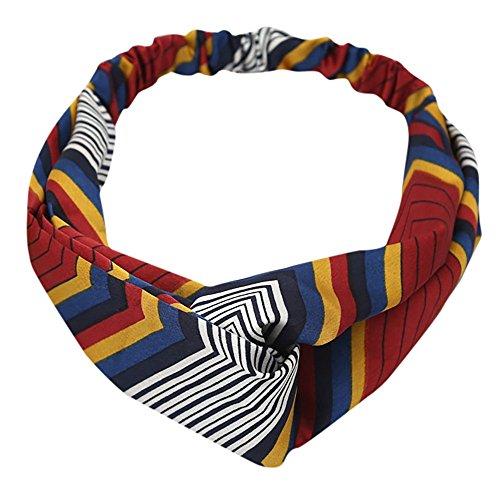 nbänder Frauen elastisches Haar Haarbänder Mädchen Pferdeschwanz Inhaber Haar Band Zubehör Haarband Haarschmuck für Alltag Yoga Sport ()