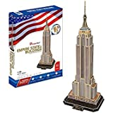 CubicFun - Puzzle 3D Empire State Building (CPA Toy MC048)