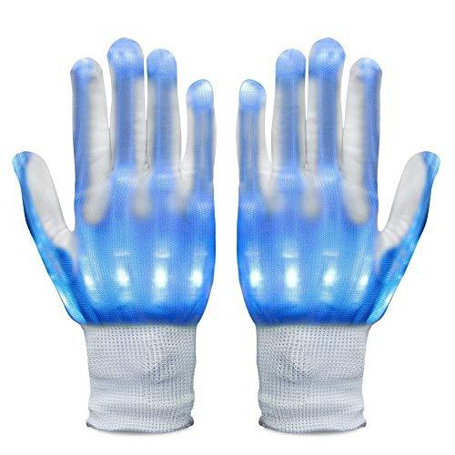 Asien LED-Handschuh-Partei-Licht-Show Handschuhe anzeigen Handschuhe für Clubbing, Rave, Geburtstag, EDM, Disco, Weihnachten, Halloween und Dubstep-Party