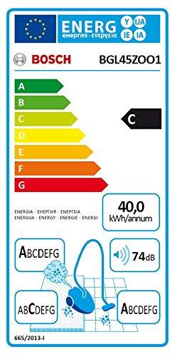 Bosch BGL45ZOO1 Bodenstaubsauger Zoo'o ProAnimal, EEK C mit Beutel, gründliche Reinigung von Tierhaaren, Animal 360 Paket, tornadorot - 2