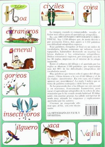 Copertina del libro Diccionario Ortografico Ideovisual