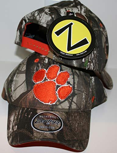 Zephyr Clemson Univesity Tigers Remington Hunting Camo Adult Mens/Womens/Youth Adjustable 100% Cotton Baseball Hat/Cap