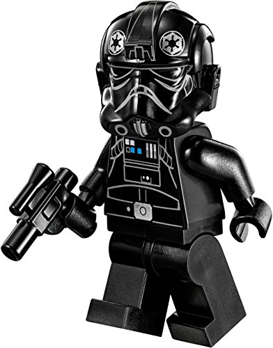 Lego Star Wars Rebels Minifigur Imperial Tie Fighter Pilot / Imperialer Tie Fighter Pilot in schwarz mit (Star Tie Fighter Rebels Wars)