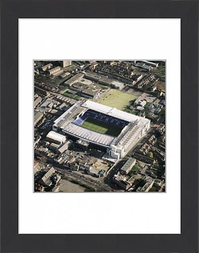 Framed-16×12-Print-of-White-Hart-Lane-Tottenham-EAW673569-1106093