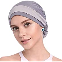 Molre-yan Sombrero de la Bufanda del Sombrero de Turbante de Las Mujeres Casquillo de