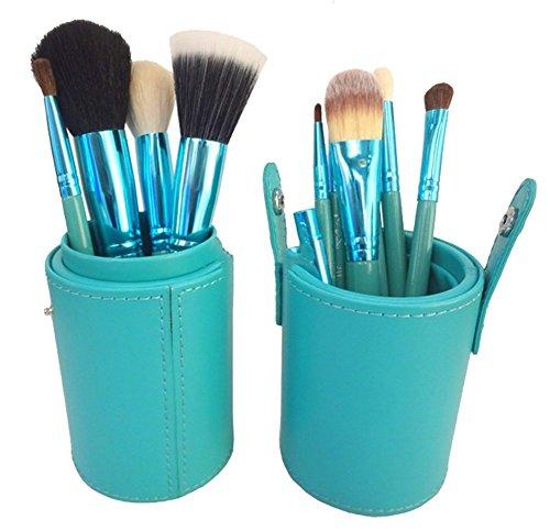 12 pièces de maquillage pinceau à maquillage de fard à paupières Lèvres Sourcils visage fond de teint poudre Pinceau Eyeliner outil