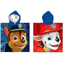 Poncho toalla Patrulla Canina Paw Patrol