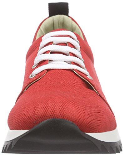 Jonny`s Vegan - Mahola, Scarpe da ginnastica Donna Rosso (Rot (rojo))