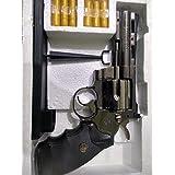 ACHALTRADERS 357 Steel Python Windproof Red Flame Gun Lighter (Silver)