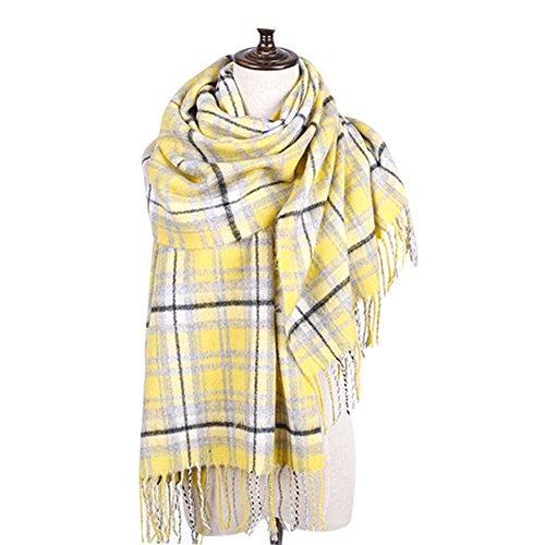 Cozy Scarf Grande Taille / Hiver Laine chaud Shawl / Lovers Mode Echarpe diverses couleurs