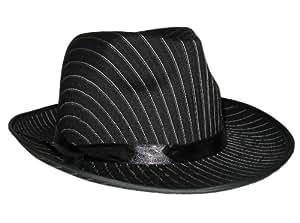 Chapeau borsalino rayé pour adulte