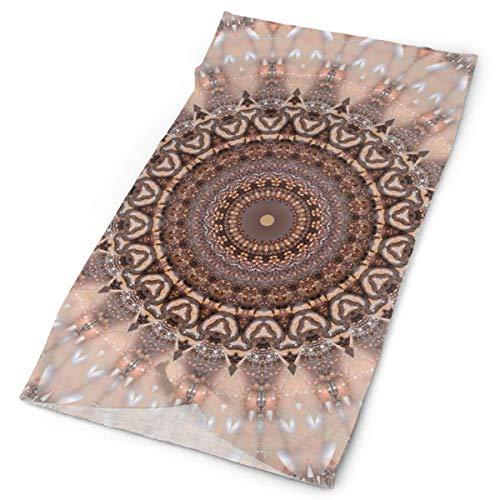 Mandala - Pasamontañas rosa romántico, bufanda mágica para el cuello, diadema, bandana para motocicleta, correr, senderismo, entrenamiento, yoga, fitness, ciclismo